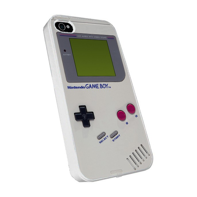 Carcasa para iPhone 4 y 4S. Modelo GAMEBOY