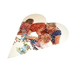 Puzzle Cartón Corazón